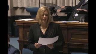 Déclaration ministérielle par Rochelle Squires le 29 mai 2017