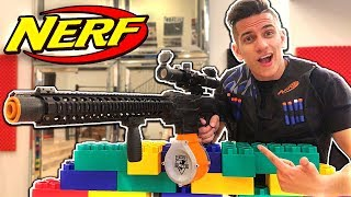 NERF WAR - SNIPER GUN GAME BATTLE! (NERF SNIPER)