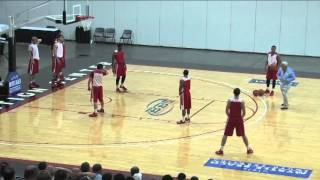 "Learn Roy Williams' ""Mine Field"" Defensive Drill! - Basketball 2016 #26"
