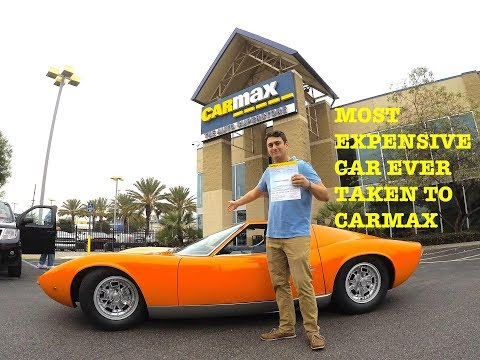 I TOOK THE 3 000 000 LAMBO TO CARMAX They offered me