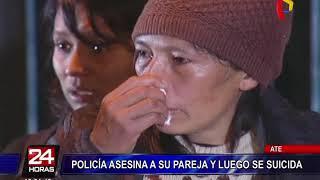 Ate: agente de la policía asesina a su pareja y luego se suicida