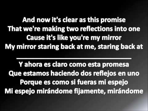 Justin Timberlake Mirrors Letra en Español e Ingles 2013 Lyrics English and Spanish