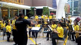 AISS Band Performance@Millenia Walk- PowerLadyHits