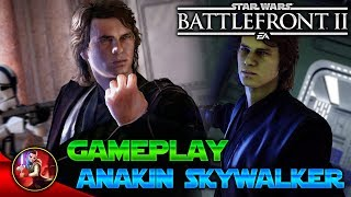 GAMEPLAY ANAKIN SKYWALKER - Star Wars Battlefront 2 - EA - DICE - ByOscar94