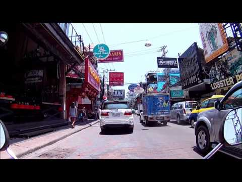 Pattaya Walking Street at Day