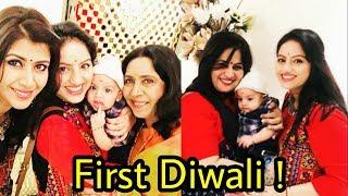 Deepika Singh aka Sandhya celebrating first diwali with real son |Soham Goyal ❤