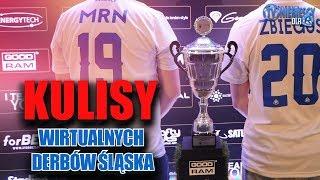 Kulisy Wirtualnych Derbów Śląska okiem TV Niebiescy (09.12.2017 r.)