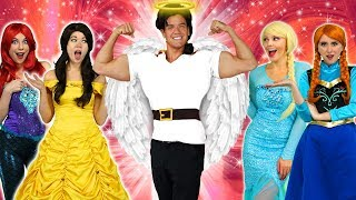 GASTON TURNS GOOD! Will Belle Marry Gaston with Elsa and Anna. Totally TV.