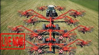 World Amazing Modern Agriculture Equipment Mega Machines Hay Bales, Log Splitter, Tractor, Har #ARJ