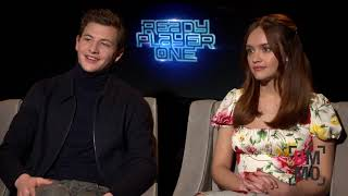 Tye Sheridan & Olivia Cooke Interview - Ready Player One