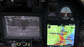 DCS KA-50 Auto Slew SHKVAL to Data Link Target Tutorial