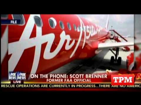 Fox Host Wonders If Metric System To Blame For Missing Air Asia Plane