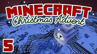 Minecraft Advent - Day 5 | ICE BIG BEN! | A Minecraft Let's Play