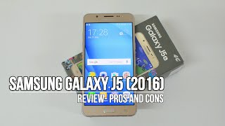 Samsung Galaxy J5 (2016) Full Review- Pros and Cons