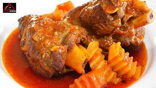 Lamb Shanks Recipe - ماهیچه گوسفند