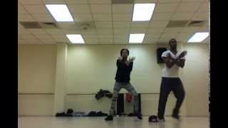 Von & Naisha From Chicago State Dancing to Prince - 1999 for BCDE