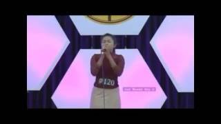 Cindy Lalthanpuii Tlangnuam @ Praise On 2nd Round 2016
