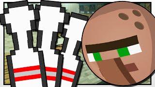 Minecraft   GRAVITY GUN BOWLING ALLEY!!   Custom Mod Adventure