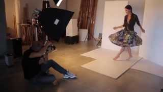 Backstage Campagna P-E 2015, Martinelli Moda Using Capture One And Capture Pilot By Phase One