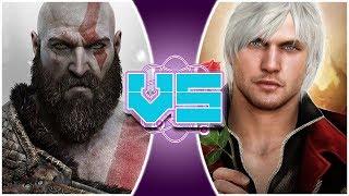 KRATOS vs DANTE! (God of War Animation) | REWIND RUMBLE!