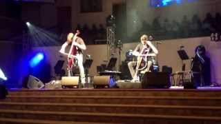 The 2CELLOS cover Racer X, Nirvana, and Jimi Hendrix