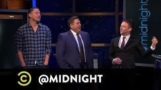 "Jonah Hill and Channing Tatum of ""22 Jump Street"" on @midnight w/ Chris Hardwick"