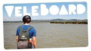 Longboarddal a Velencei-tó körül! #VELEBOARD | CsChannel