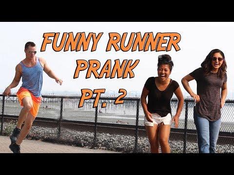 FUNNY RUNNER PRANK Part 2