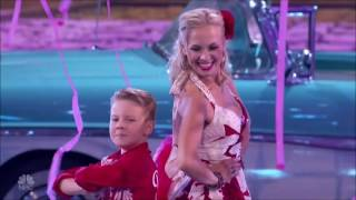 Mom/Son Dancers Sets Off A Judges War | Quarterfinals 3 (FULL) | America's Got Talent 2016
