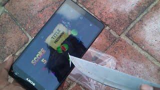 Sony Xperia C4 Scratch Test