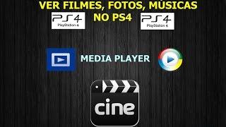 Como Ver/Passar Filmes Fotos Músicas para o PS4