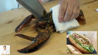 EXTREMELY GRAPHIC: Maine Lobster Roll (Japanese Inspired) | How To Make