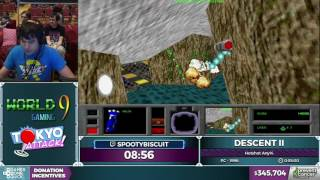 Descent II by spootybiscuit in 40:03 - Awesome Games Done Quick 2017 - Part 61