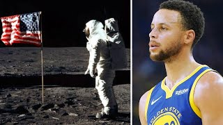 Steph Curry Says He Doesn't Believe Americans Landed on the Moon