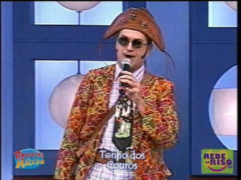 Tonho dos Couros no Show do Tom piadas e música de corno