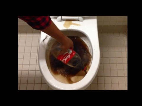 The Effects Of Using Coke To Clean A Dirty Toilet