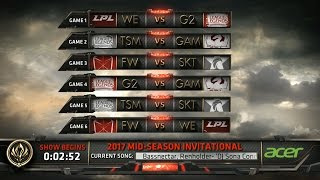 MSI 2017 Day 4 Highlights ALL GAMES ALL KILLS - Mid Season Invitational 2017 D4 Highlights