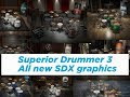 Superior Drummer 3 - All new SDX graphics