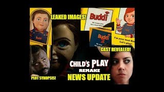 Child's Play Remake NEWS UPDATE! Leaked Buddi Box - On Set Footage - Images of NEW Doll!