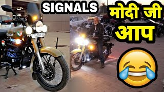 Royal Enfield Classic 350 Signals Modifications & Accessories | Classic 350 Cc Mods | ENGINEER SINGH