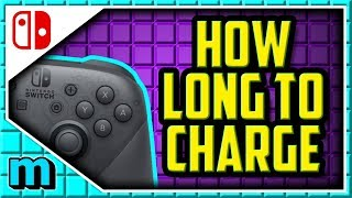 How Long Does It Take To Charge A Nintendo Switch Pro Controller - Switch Pro Controller Charge Time