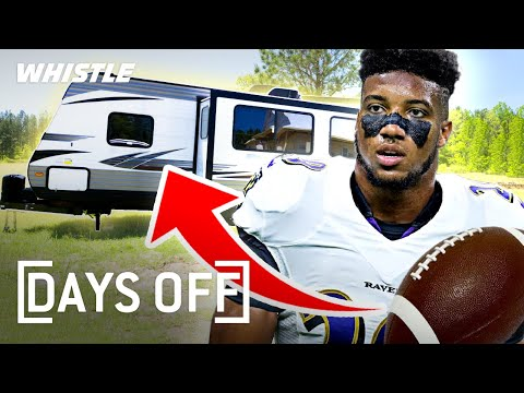 This NFL Star Signed For 97 Million But STILL Lives in A CAMPER 👀