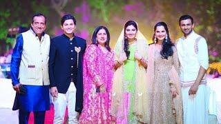 Sania Mirza Sister Anam Mirza  Marriage Exclusive Video !!