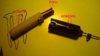 How to build a Mini gun / Vyroba mini pistole