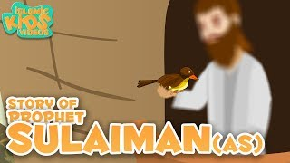 Prophet Stories for Kids | Prophet Sulaiman (AS) Story | Islamic Kids Stories With Subtitles