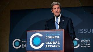 Secretary of State John Kerry on American Leadership