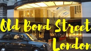 Old Bond Street, London (Close To Piccadilly Circus)   Travel Blog   Traveling   Shopping London
