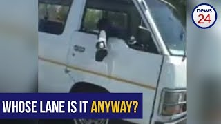 WATCH: Taxi drivers behaving badly