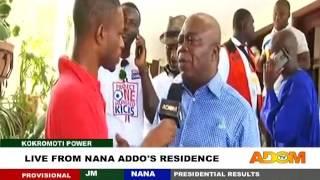 live from Nana Addo's Residence - Kokromoti Power on Adom TV (9-12-16)