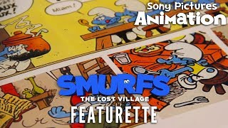 SMURFS: THE LOST VILLAGE - Returning to Peyo